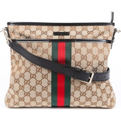 Gucci GG Supreme Web Messenger Bag found on MODAPINS from Luxury Garage Sale for USD $725.00