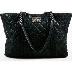 Chanel Large Gentle Boy Shopping Tote Bag
