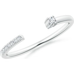 Diamond Stackable Open Ring found on Bargain Bro India from Angara Jewelry for $1019.00