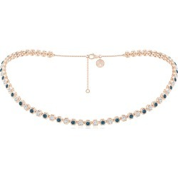 Natori x Angara Hexagonal Blue Diamond and Diamond Choker Tennis Necklace found on Bargain Bro from Angara Jewelry for USD $12,441.20