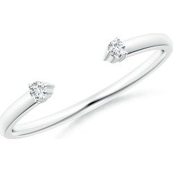 Two-Stone Diamond Open Ring