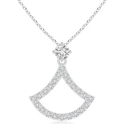 Prong-Set Diamond Axe Pendant found on Bargain Bro Philippines from Angara Jewelry for $629.00