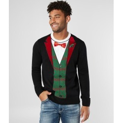 Ugly Christmas Sweater Holiday Tux Sweater found on MODAPINS from buckle.com for USD $34.00