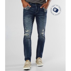 Rock Revival Nikola Slim Taper Stretch Jean found on Bargain Bro Philippines from buckle.com for $169.00
