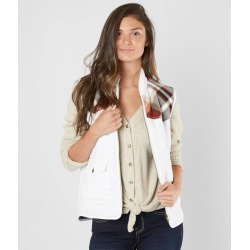 BKE Flannel Puffer Vest found on Bargain Bro from buckle.com for USD $23.91