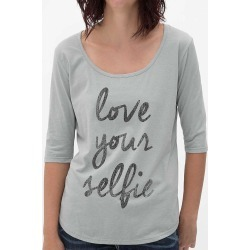 Retro Brand Love Your Selfie T-Shirt found on Bargain Bro India from buckle.com for $9.74