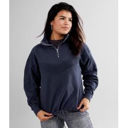 BKE Pieced Quarter Zip Pullover