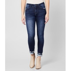 KanCan Signature Mid-Rise Ankle Skinny Cuffed Jean found on Bargain Bro Philippines from buckle.com for $64.95