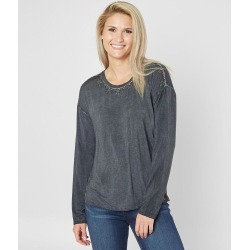 Miss Me Embellished Top found on Bargain Bro from buckle.com for USD $24.95