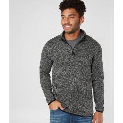 Rebel Star Quarter Zip Pullover