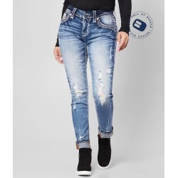Rock Revival Iselin Easy Ankle Skinny Stretch Jean found on Bargain Bro Philippines from buckle.com for $169.00