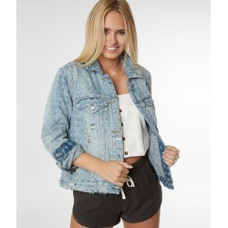 Blank NYC Destructed Denim Jacket found on MODAPINS from buckle.com for USD $102.40