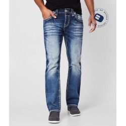 Rock Revival Boulder Straight Stretch Jean found on Bargain Bro Philippines from buckle.com for $164.00