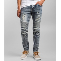 Crysp Denim Manuel Moto Skinny Stretch Jean found on Bargain Bro India from buckle.com for $69.95