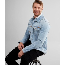 Jack & Jones® Destructed Jean Jacket found on Bargain Bro Philippines from buckle.com for $71.96