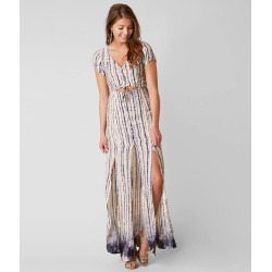 Honey Punch Printed Maxi Dress found on MODAPINS from buckle.com for USD $28.47