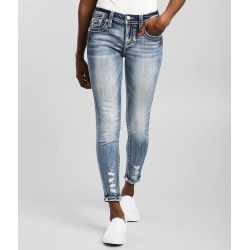 Miss Me Mid-Rise Ankle Skinny Stretch Jean found on Bargain Bro India from buckle.com for $104.00