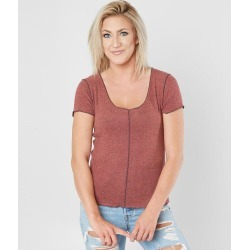 Good Luck Gem Reverse Fleece Top found on Bargain Bro from buckle.com for USD $11.00