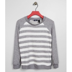 Girls - Daytrip Brushed Knit Striped Pullover