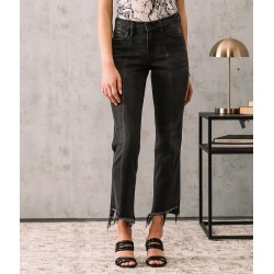 Flying Monkey Mid-Rise Slim Straight Stretch Jean found on Bargain Bro India from buckle.com for $69.95