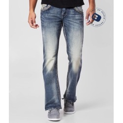 Rock Revival Marston Slim Boot Stretch Jean found on Bargain Bro Philippines from buckle.com for $164.00