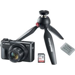 Canon PowerShot G7 X Mark II 20.1-Megapixel Digital Camera Video Creator Kit Black 1066C029 - Best Buy found on Bargain Bro from  for $49.99