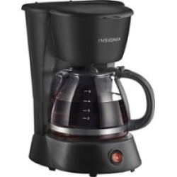 Insignia 5-Cup Coffee Maker Black NS-CM5CBK6 - Best Buy found on Bargain Bro from  for $79.99