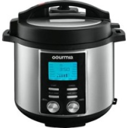 Gourmia 6-Quart Pressure Cooker Silver GPC655 - Best Buy found on Bargain Bro from  for $99.99