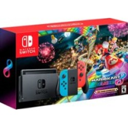 Nintendo Switch Super Mario Kart Deluxe Bundle Multi HACSKABLH - Best Buy found on Bargain Bro from  for $49.99