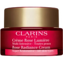 Clarins Super Restorative Rose Radiance Cream - All Skin Types 50 ml found on Makeup Collection from Clarins UK for GBP 83.02