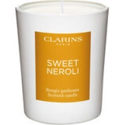 Clarins Sweet Neroli Scented Candle 180 g found on Bargain Bro UK from Clarins UK