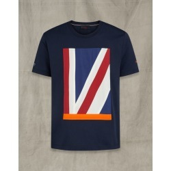 Belstaff Britannia Applique T-Shirt Blue 2XL found on Bargain Bro India from LinkShare USA for $84.00