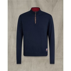 Belstaff Britannia Quarter Zip navy XL found on Bargain Bro India from LinkShare USA for $175.00