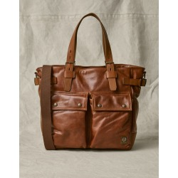 Belstaff Touring Tote Bag (Beige, One Size, Leather) found on Bargain Bro from belstaff.com for USD $437.00