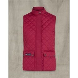 Belstaff Britannia Waistcoat Red US 2 / IT 36 found on Bargain Bro India from LinkShare USA for $192.00