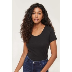 Ardene Me To We Basic Scoop Neck Tee Shirt, Xl