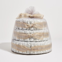The Honest Company Baby Diaper Cakes Pandas, Hypoallergenic, Plant-Based, Plant-Derived Ingredients