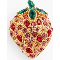 Strawberry Daiquiri Brooch - Bright Papaya - 001 Talbots found on Bargain Bro India from Talbots for $49.50