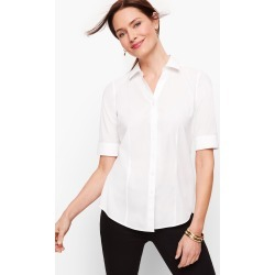 Perfect Shirt - Elbow Length Sleeves - White - 16 Talbots found on Bargain Bro Philippines from Talbots for $29.99