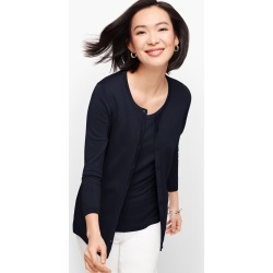 Charming Cardigan Sweater - Indigo - XS Talbots found on Bargain Bro Philippines from Talbots for $24.99
