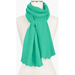 Cashmere Chevron Stitch Scarf - Pale Jade - 001 Talbots found on Bargain Bro India from Talbots for $129.00