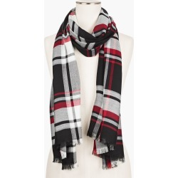 Fireside Plaid Oblong Scarf - Red - 001 Talbots found on Bargain Bro India from Talbots for $69.50