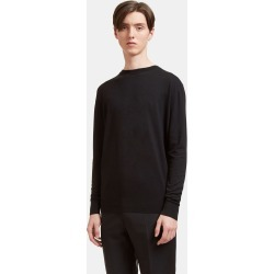 Aiezen Silk and Cashmere-Blend Crewneck Sweater in Black found on MODAPINS from LN-CC (UK) for USD $212.85