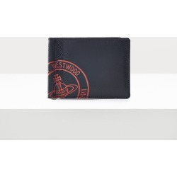Kent Billfold With Money Clip Black/Red found on MODAPINS from Vivienne Westwood for USD $152.91