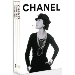 Assouline Books And City Guides - Chanel, 3-volume collection in White, Black 100% Paper