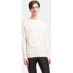 Aiezen Silk and Cashmere-Blend Crewneck Sweater in White found on MODAPINS from LN-CC (UK) for USD $212.85