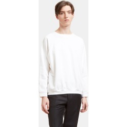 Aiezen Crewneck Sweatshirt in White found on MODAPINS from LN-CC (UK) for USD $126.38