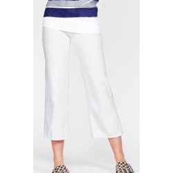 J BRAND Cropped White Jeans size 25
