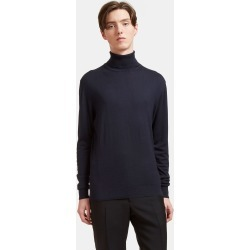 Aiezen Men's Ribbed Roll Neck Sweater in Navy found on MODAPINS from LN-CC (UK) for USD $212.85