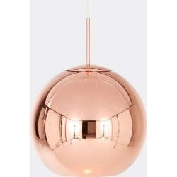 Tom Dixon Lighting - 'Copper' pendant light, 450mm in Copper polycarbonate found on Bargain Bro UK from wallpaper